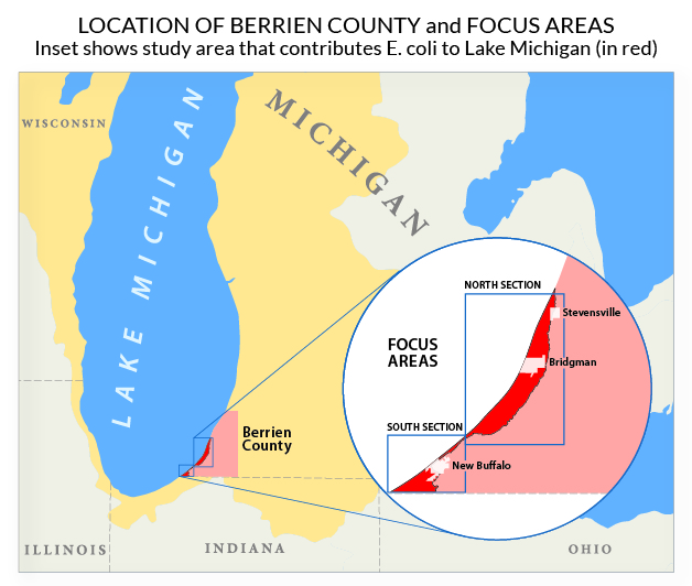 map of berrien county
